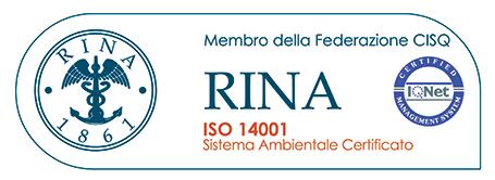 Beta S.r.l. è un'Azienda certificata ISO 14001:2015